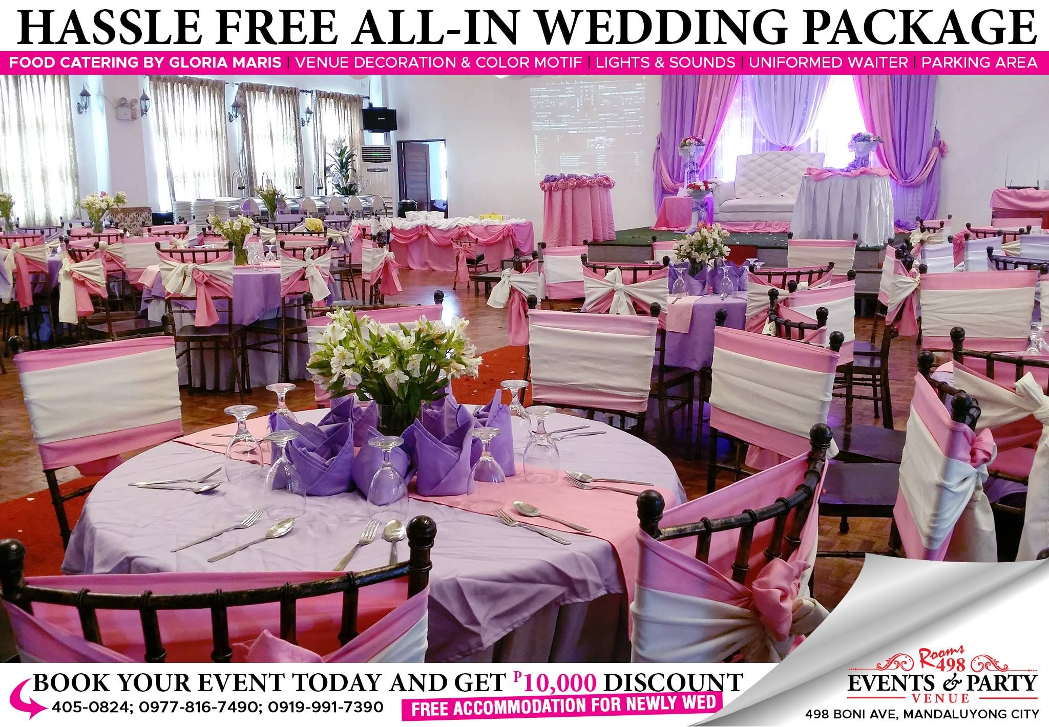 AFFORDABLE EVENTS VENUE