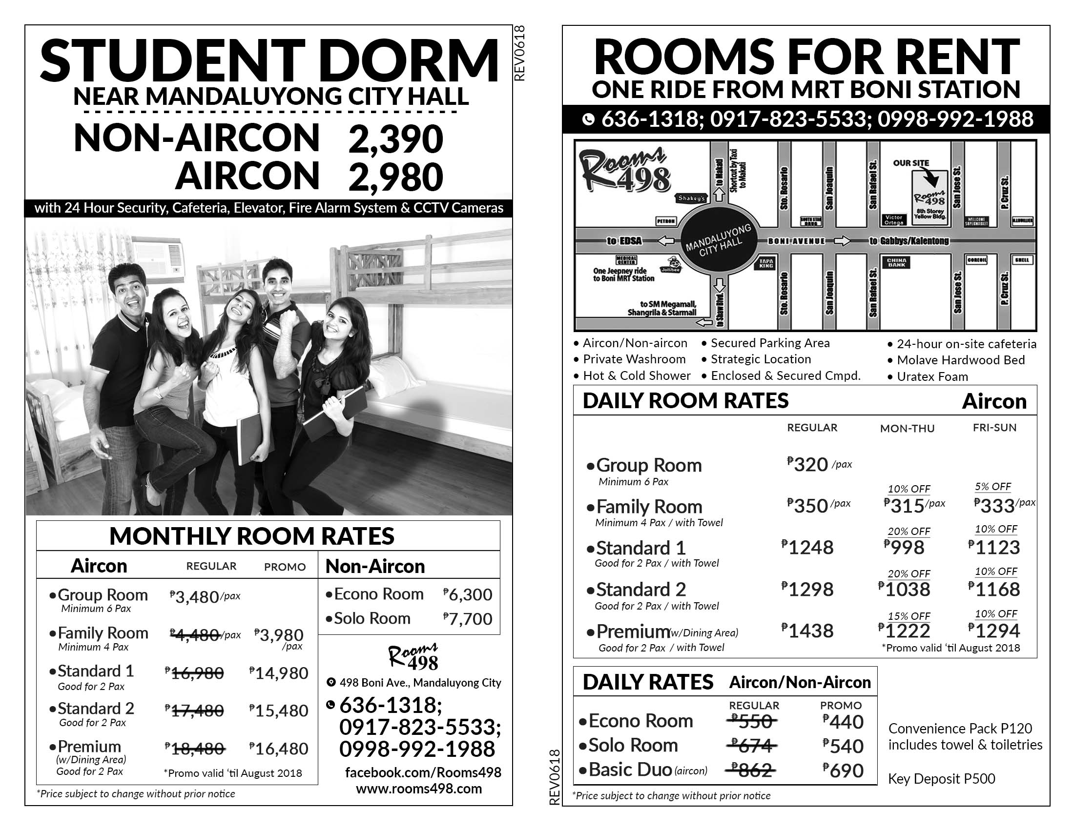 Affordable room rates 2018 in Manila