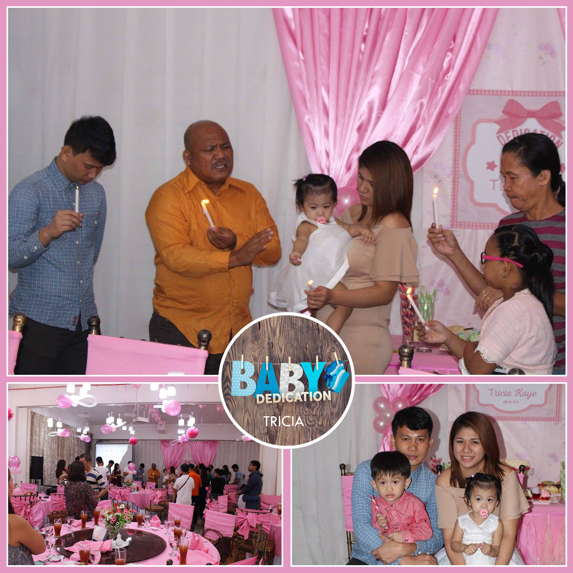 BAPTISM PARTY EVENTS VENUE GLORIA MARIS WILSON 0998-992-9200