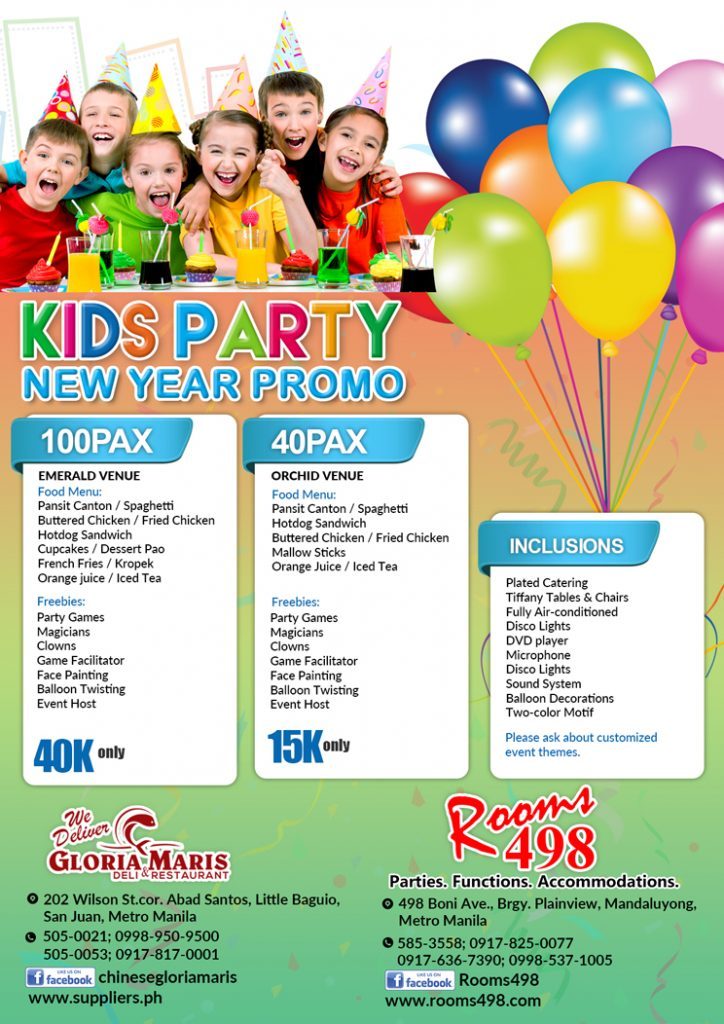 Place To Rent Kids Party