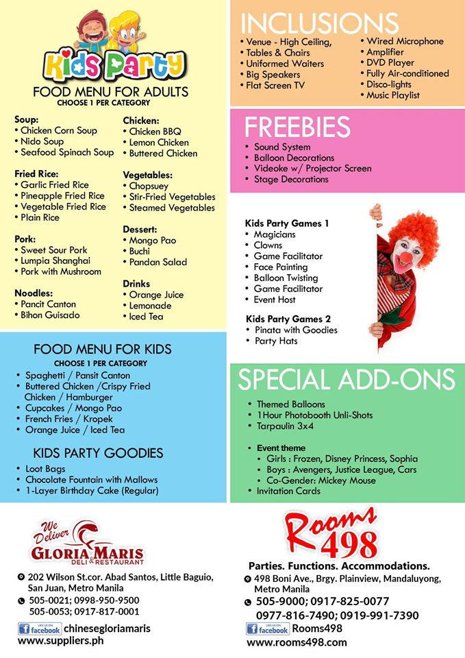 www.rooms498.com/ www.supplier.ph ALL IN PACKAGES! FOR ONLY P 48K For 80 pax. Events and party Venue wedding/ debut/baptismal/kids party Seminar.