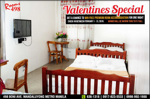 Rooms498 Valentines Promo