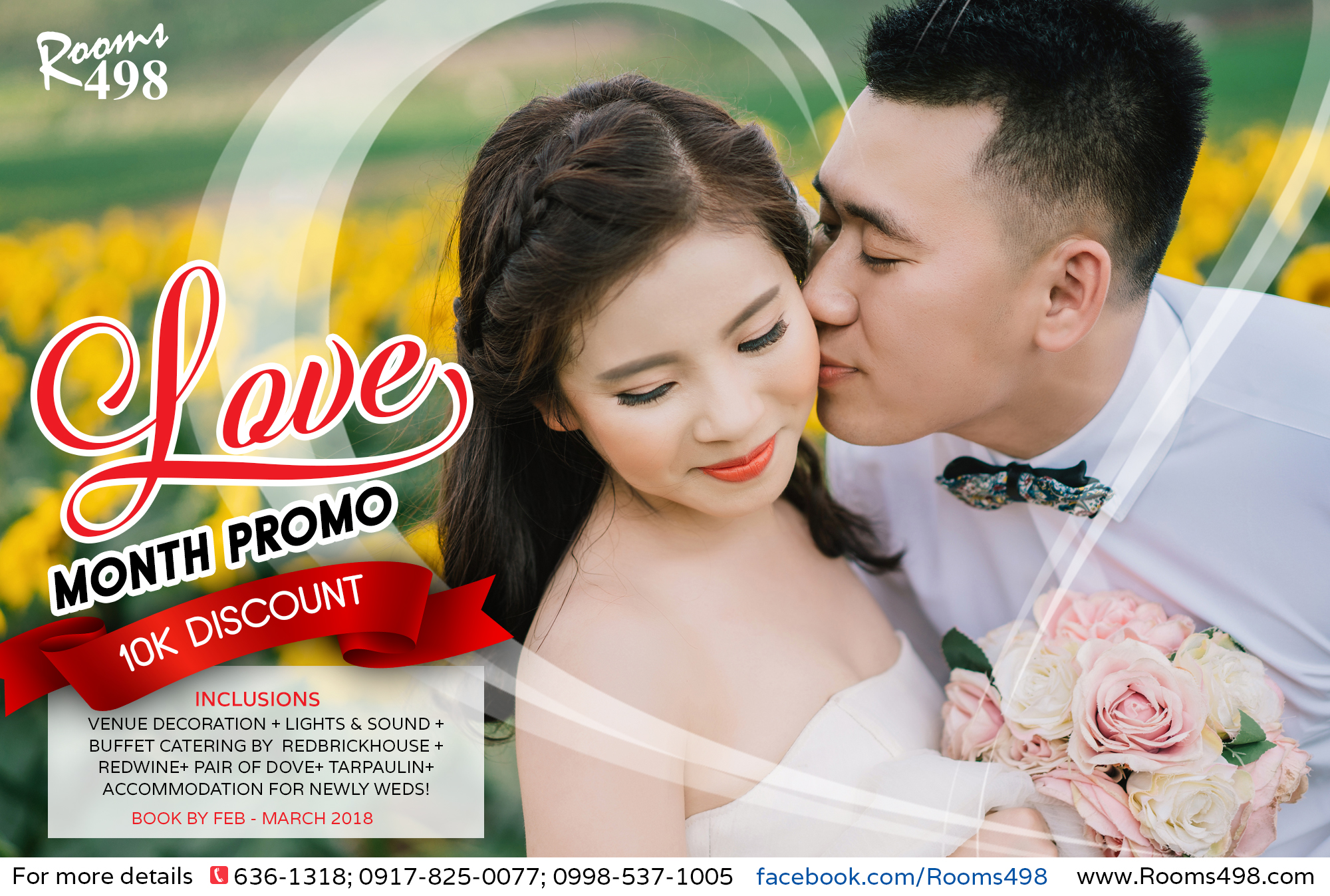 Rooms498 WEDDING PROMO