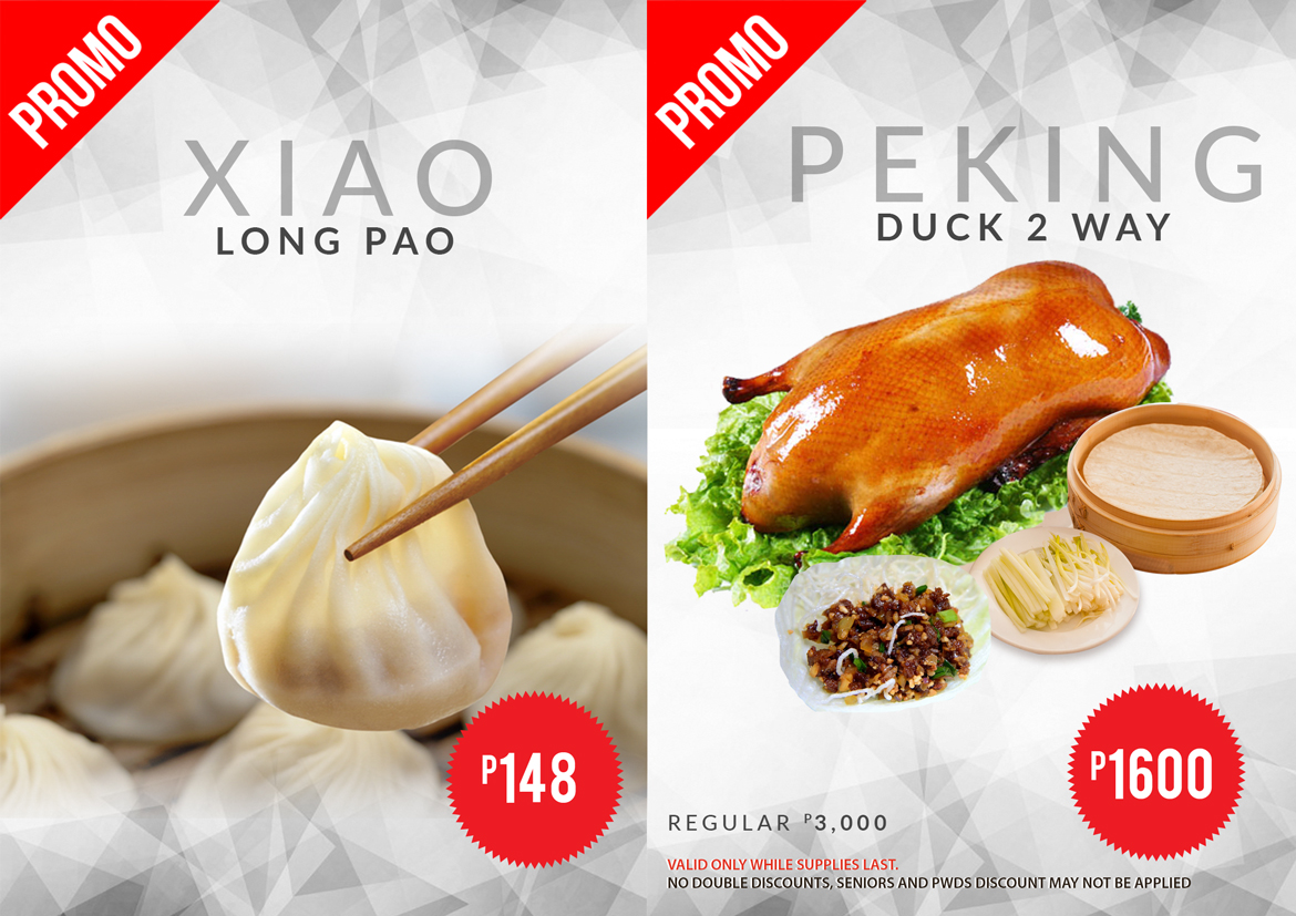 Affordable xiao long pao and peking duck .
