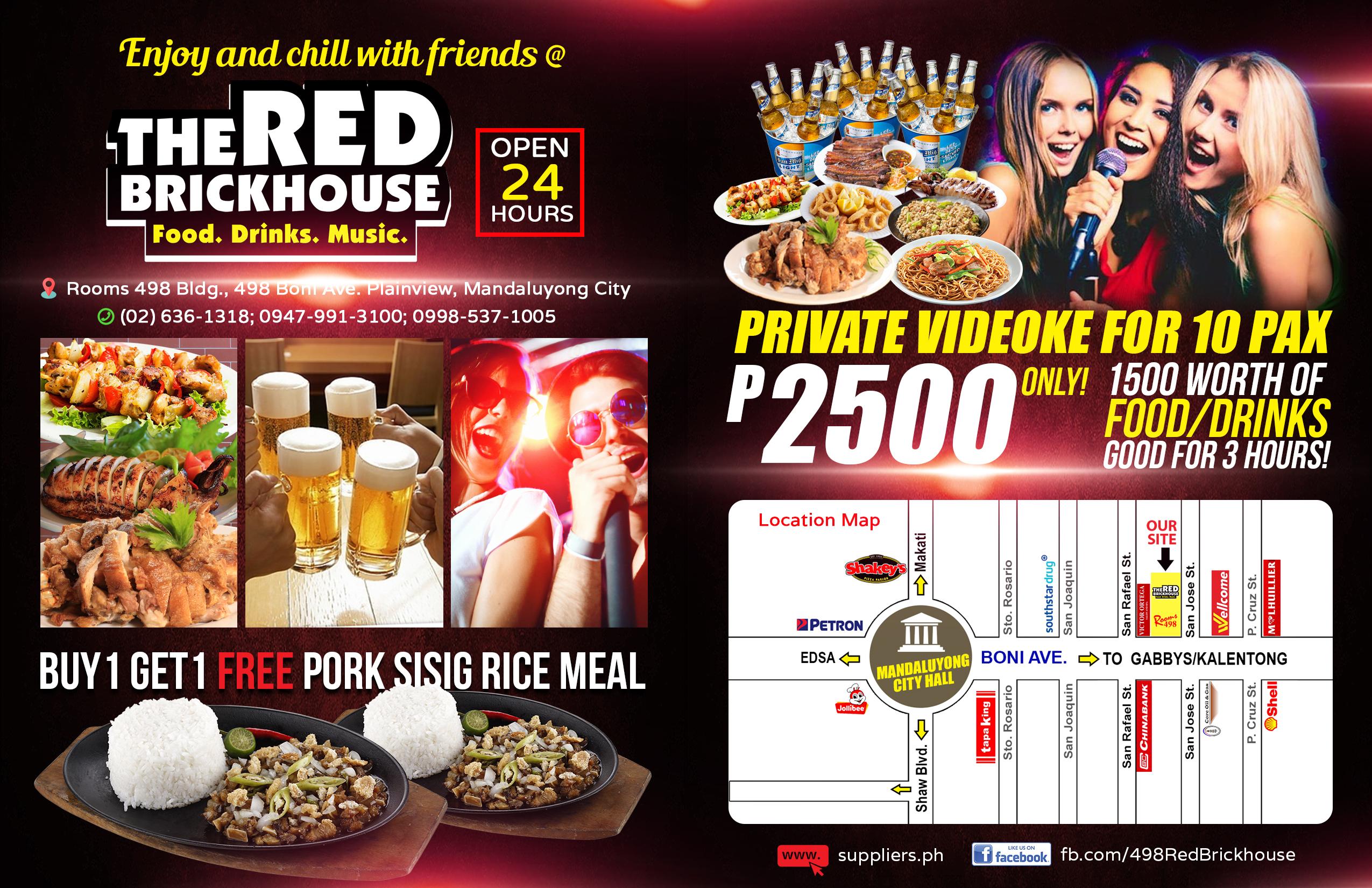 The Redbrickhouse open 24 hrs Mandaluyong Metro Manila Affordable Restaurant in Mandaluyong