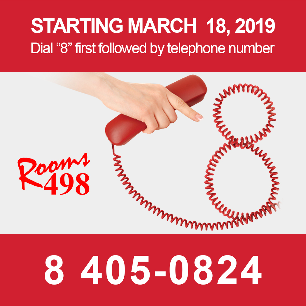 rooms498 telephone update rooms498.com