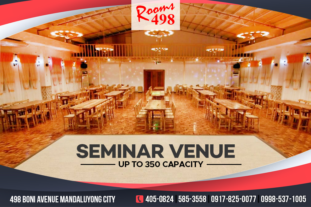 rooms498 seminar venue, wedding venue, anniversary venue