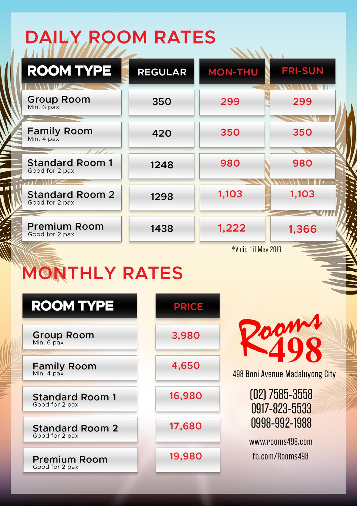 rooms498 room rates rroms498.com