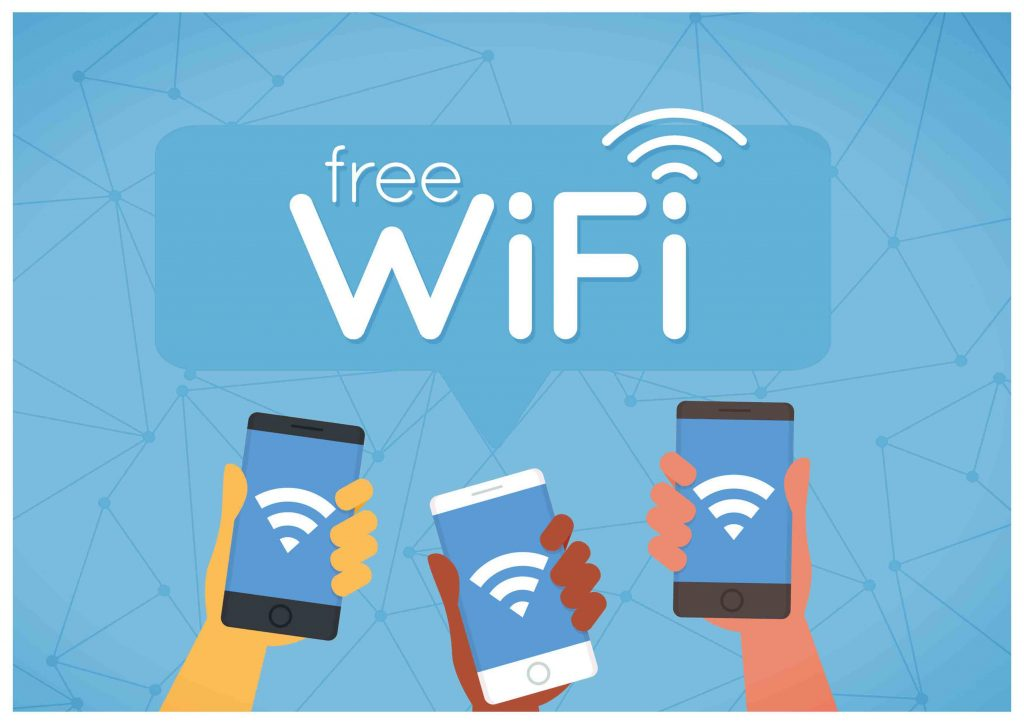 FREE WIFI ZONE at Rooms498. rooms498.com