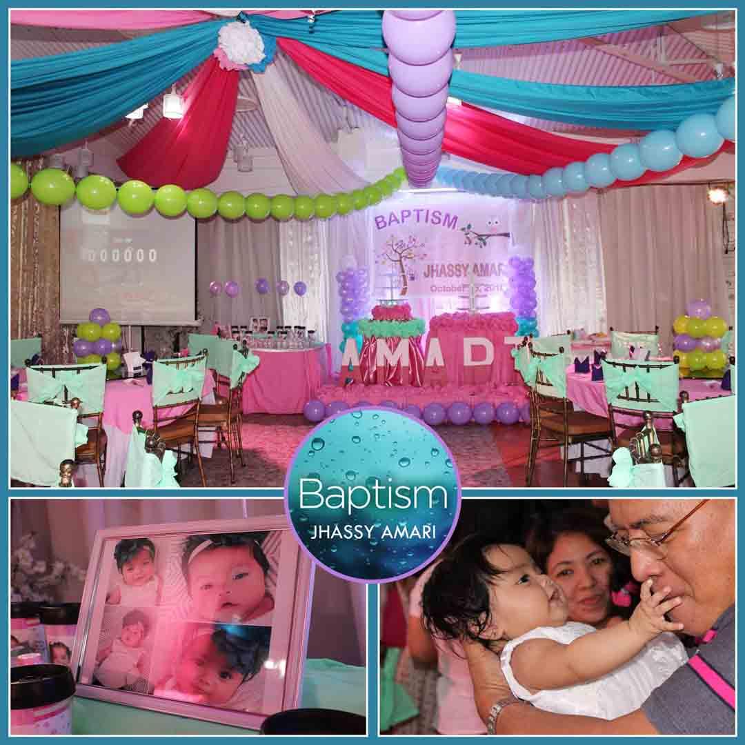 BAPTISM PARTY EVENTS VENUE rooms498 0998-992-9200