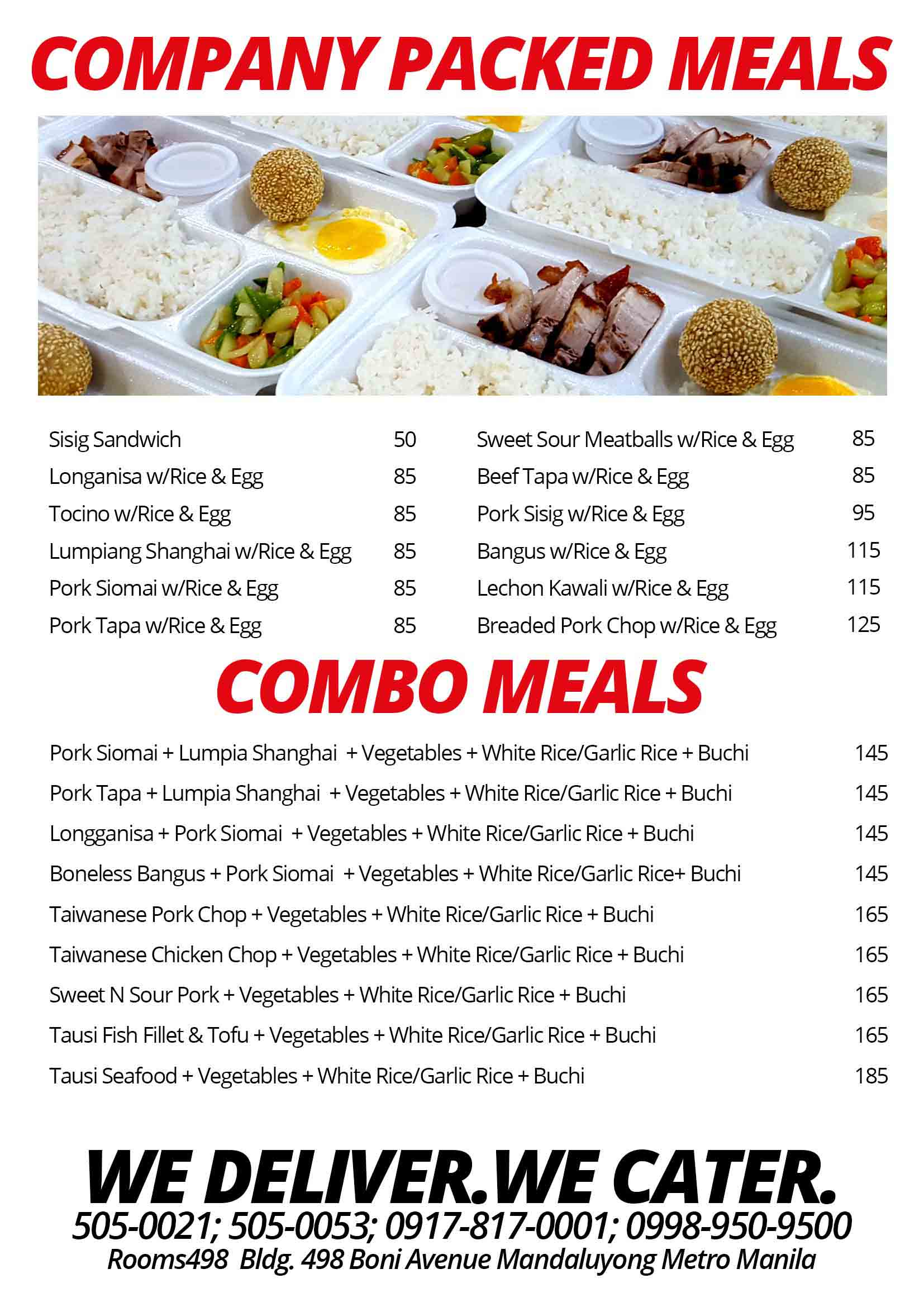 Affordable company-packed-meals Corporate meals/ seminar package meal.