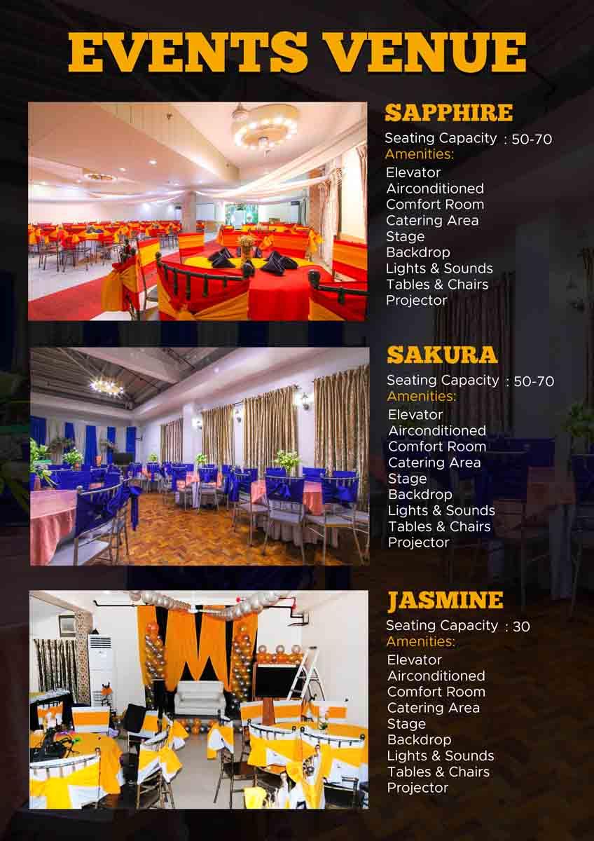 Affordable Events Venue in Manila rooms498.com