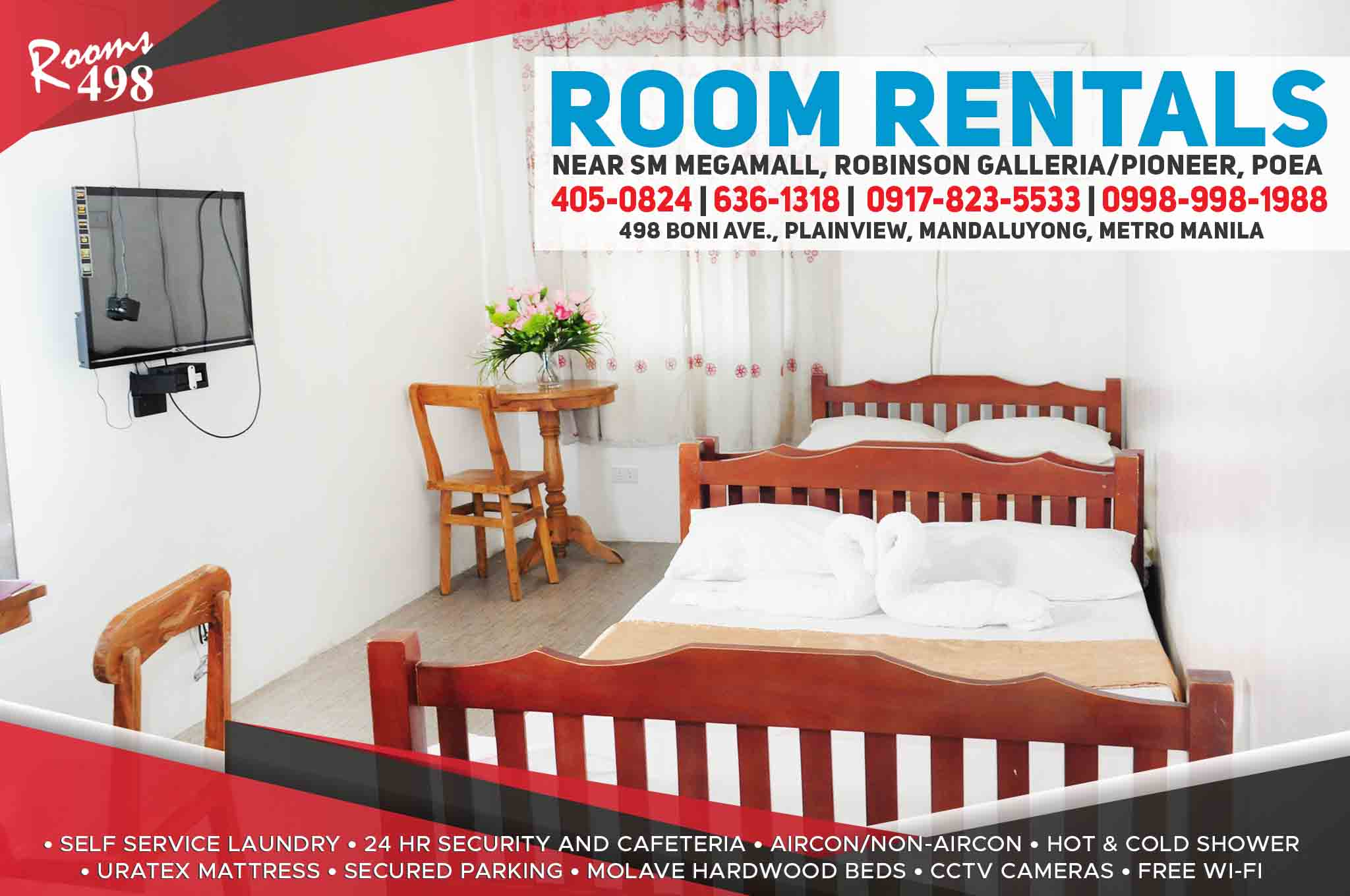 ROOMS498.COM ROOM RENTALS